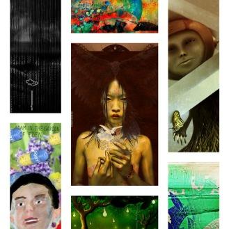 November 2011 Art Exhibition, featuring: Linaji, Adam Panasiewicz, Dora Mandragora, Marcel Caram, Massimo Scognamiglio, Jana Jelovac, Zokos