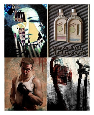 September 2011 Art Exhibition, featuring: Alvaro Sanchez, Philip Gresham, Mark Langan, Gary Stearly