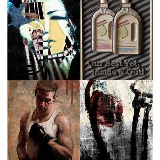 September 2011 Art Exhibition, featuring: Alvaro Sanchez, Philip Gresham, Mark Langan, Gary Stearly