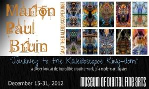 Marlon Bruin Solo Art Exhibition 2012