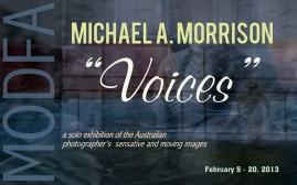 Michael A. Morrison solo exhibition
