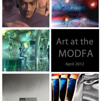 April 2012 Art Exhibition featuring: Heike Schenk Arena, Tom Repasky, Nikolay Semyonov, Suresh Saraswat, Stephen A. Zimmerman