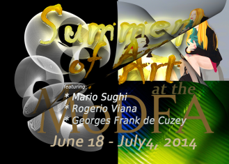 Modfa Summer Art Exhibition - June 2014