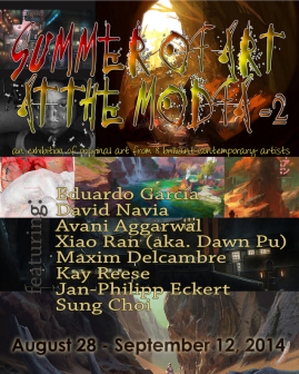 MoDFA August 2014 Art Exhibition