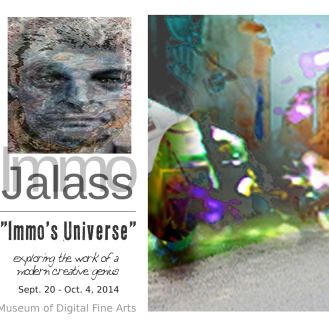 MoDFA Solo Exhibition 2014, featuring Immo Jalass