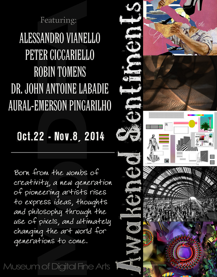 MODFA October 2014 Art Exhibition